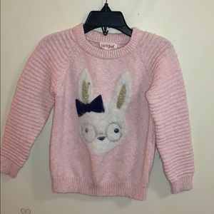 Little Girl's FuFu Bunny Sweater